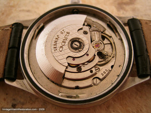 Rado Starliner 999 with Ying-Yang Dial, Automatic, Very Large 37mm