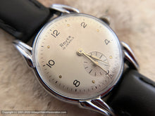Load image into Gallery viewer, Royce in Original Champagne-Silver Dial with Deco Case, Manual, 32.5mm