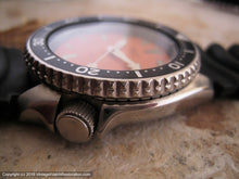 Load image into Gallery viewer, Exquisite Seiko 150M Divers with Orange Dial, Automatic, 42.5mm