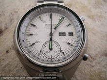 Load image into Gallery viewer, Seiko Chronograph , Chronograph, 41x45mm