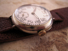 Load image into Gallery viewer, Early 1900's Swiss with Super Porcelain Dial, Manual, Large 35mm