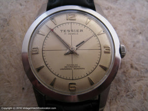 Tessier (Eisenstadt) with a Lovely Dial Design, Manual, 34mm
