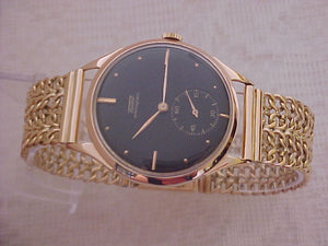Tissot Solid 18k Gold Bracelet, Cal 27, Manual, Very Large 36mm