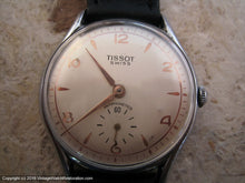 Load image into Gallery viewer, Tissot with Softly Elegant Dial - Gold applied Design on Pearl White Dial, Manual, 35mm