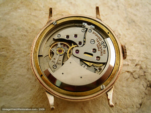 18K Rose Gold Universal Freccero, Automatic, Very Large 34.5mm