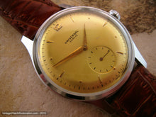 Load image into Gallery viewer, Very Large Yellow Gold Dial Universal, Manual, Very Large 37mm