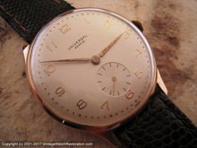 Load image into Gallery viewer, Huge 18K Rose Gold Universal Geneve Beauty, Manual, Huge 37mm