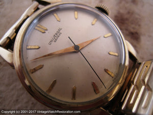 Universal Geneve Cal 231 - Sweet and Dependable Fifties Classic, Manual, 32mm