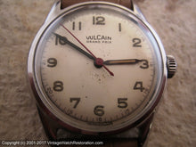 Load image into Gallery viewer, Vulcain Grand Prix WWII Era Bumper, Automatic, 33mm
