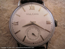 Load image into Gallery viewer, Vulcain with Gold Roman Dial on Ivory, Manual, Large 35mm