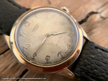 Load image into Gallery viewer, Venus 17 Rubis Patina Dial with Minute and Second Tick Markers, Manual, 38.5mm