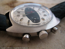 Load image into Gallery viewer, Large Beefy Tonneau Style Waltham Two Tone Chronograph, Manual, 41x42.5mm