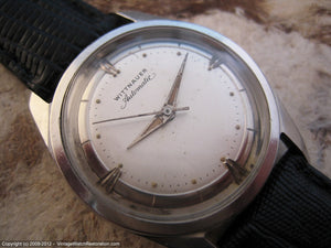 Silver-White Dial Wittnauer, Automatic, 33.5mm