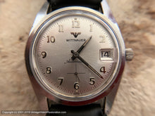 Load image into Gallery viewer, Wittnauer Minty Silver Dial with Date, Automatic, Large 34mm