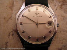 Load image into Gallery viewer, Wittnauer Two Tone Dial with Date, Manual, 33x37mm
