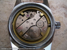 Load image into Gallery viewer, French Black Dial Wolbrook Divers World Time with Date, Manual, Very Large 36mm