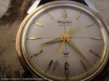 Load image into Gallery viewer, Wyler Incaflex Two-Toned Bezel with Superb Lumed Hands, Manual, 33mm
