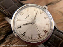 Load image into Gallery viewer, Wittnauer Silver Sunburst Dial, Manual, Large 34.5mm