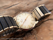 Load image into Gallery viewer, Wittnauer with Textured Silver Dial and Golden Markers, Manual, 33mm