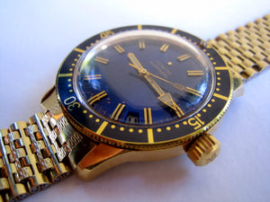 Zenith Blue Dial Diver, Automatic, Huge 38mm