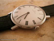 Load image into Gallery viewer, Thin Zenith with Elegant White Dial and Roman Numerals, Manual, 34mm