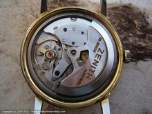 Load image into Gallery viewer, Zenith Gold Star with Date at 4:30, Automatic, Large 34mm