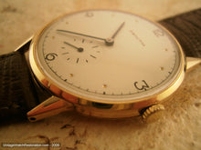 Load image into Gallery viewer, Massive Zenith 18K Gold on Buttery Cream Dial, Manual, Massive 38mm