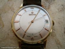 Load image into Gallery viewer, 18K Gold Zenith with Date and Gold Star, Manual, Large 34mm