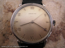 Load image into Gallery viewer, Zenith Soft Original Patina Dial with Roman Numbers, Manual, Large 35mm