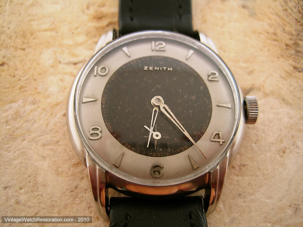 Zenith Original WWII Era Two Tone, Manual, 34mm