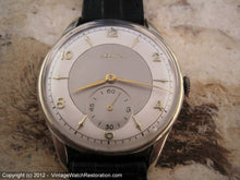 Load image into Gallery viewer, Impressively Sized and Stunning Zenith Two-Tone, Manual, Very Large 37mm