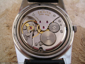 Zenith Sporto with Gray Dial, Manual, 36x43.5mm