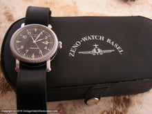 Load image into Gallery viewer, Zeno Watch Basel Black Dial with Original Box, Automatic, Huge 38mm