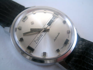 Perfect NOS Zodiac Day/Date, Automatic, Large 35mm