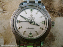 Load image into Gallery viewer, Zodiac Seawolf White with Green Triangle Markers - Signed 5x, Automatic, Large 35mm
