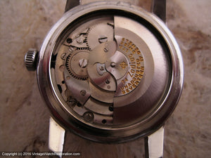 Zodiac with Original Silver Triple Date Moonphase Dial, Automatic, Large 34mm