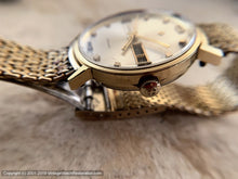 Load image into Gallery viewer, Zodiac Day-Date Stunner with Gold Mesh Zodiac-signed Bracelet, Automatic, Large 35mm