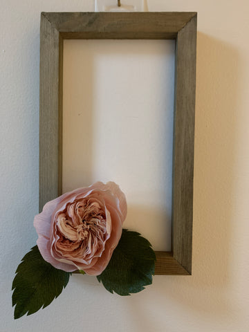 Medium Wall Sign with Juliet Rose