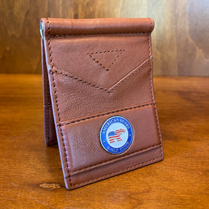 Ahead Multi-Colored Leather Folding Wallet
