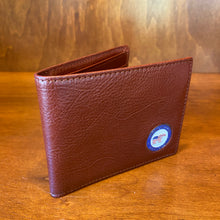 Load image into Gallery viewer, Ahead Leather Bi-Folding Wallet