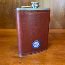 Load image into Gallery viewer, Ahead Leather Flask