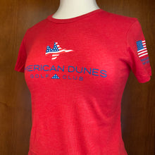 Load image into Gallery viewer, St. Andrews Next Level Premium Fitted Crew Women's Tee Shirt / Patriot Jet