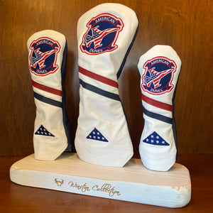 "Winston Collection ""Fighter Patch"" Headcovers"