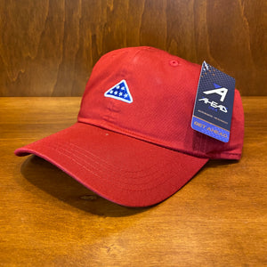 Ahead Folded Flag Icon Shawmut Cap