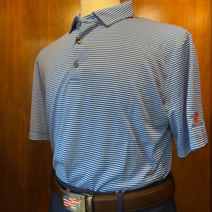 Nicklaus Men's Feeder Stripe Polo