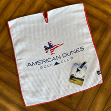 Load image into Gallery viewer, St. Andrews Microfiber Players Towel & Custom Bag Tag Combo