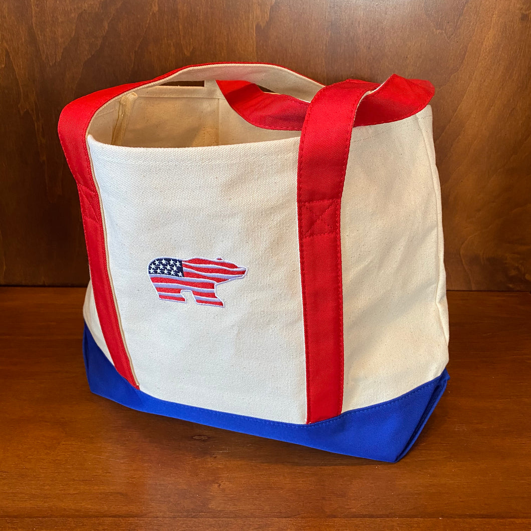 Ahead Canvas Tote