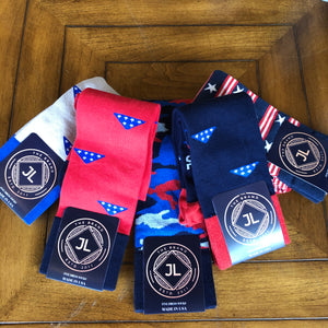 JL The Brand 5 Sock Patriot Bundle