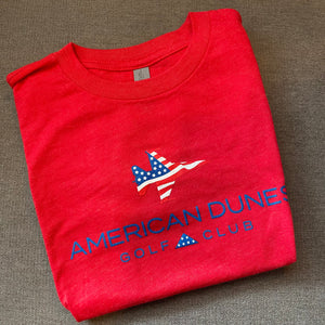 St. Andrews Youth Next Level Premium Fitted Crew Tee Shirt / Patriot Jet