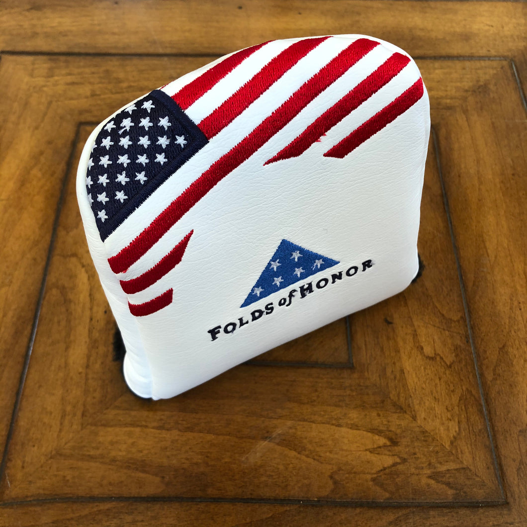 AM&E Stars & Stripes Universal Large Mallet Putter Cover